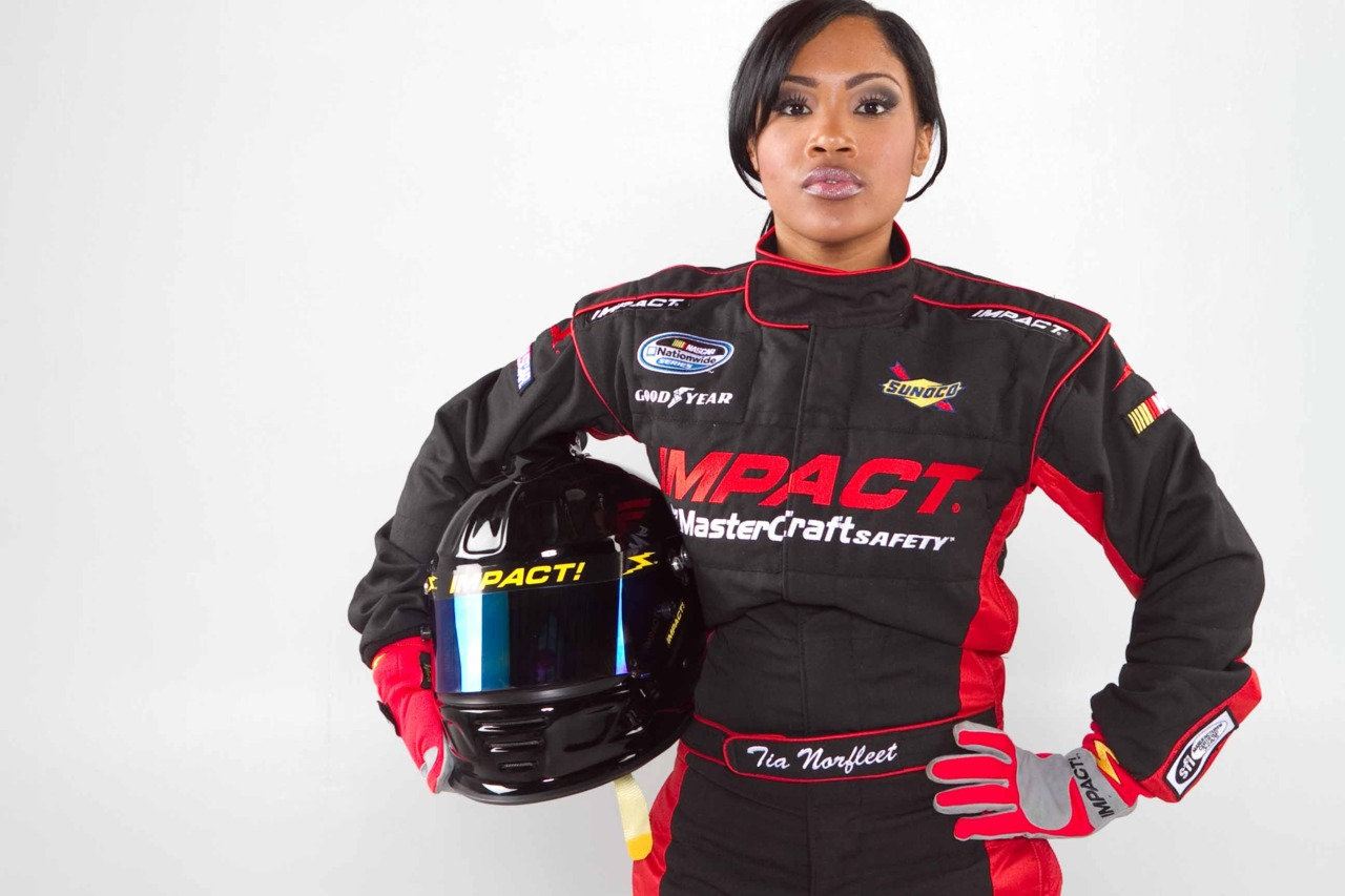 tia norfleet the first african american woman in nascar. Black Bedroom Furniture Sets. Home Design Ideas