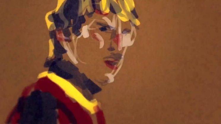 L'oeuvre d'art Barcelone vs Real Madrid de Luke Arthur