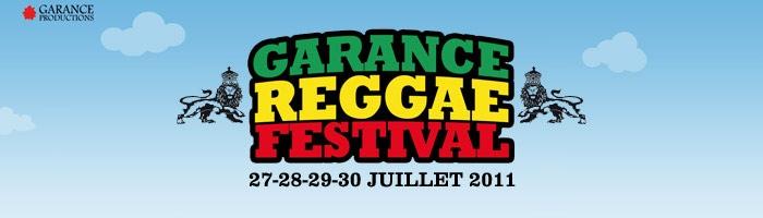Programmation officielle du Festival Garance Reggae 2011