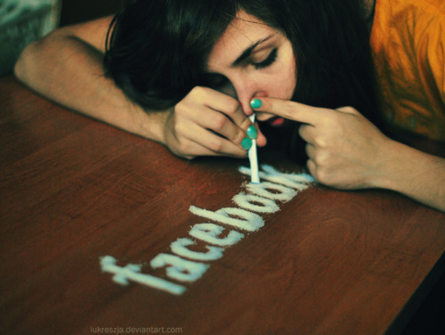 image girl facebook drug