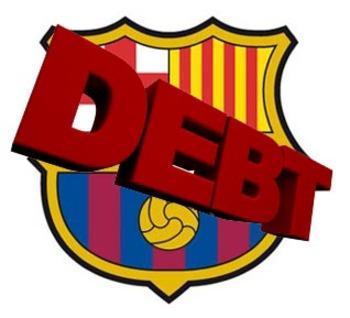 barcelona debt
