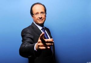 François Hollande in Banlieue