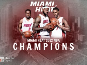 LeBron James 2012 NBA Champion Nike Ad