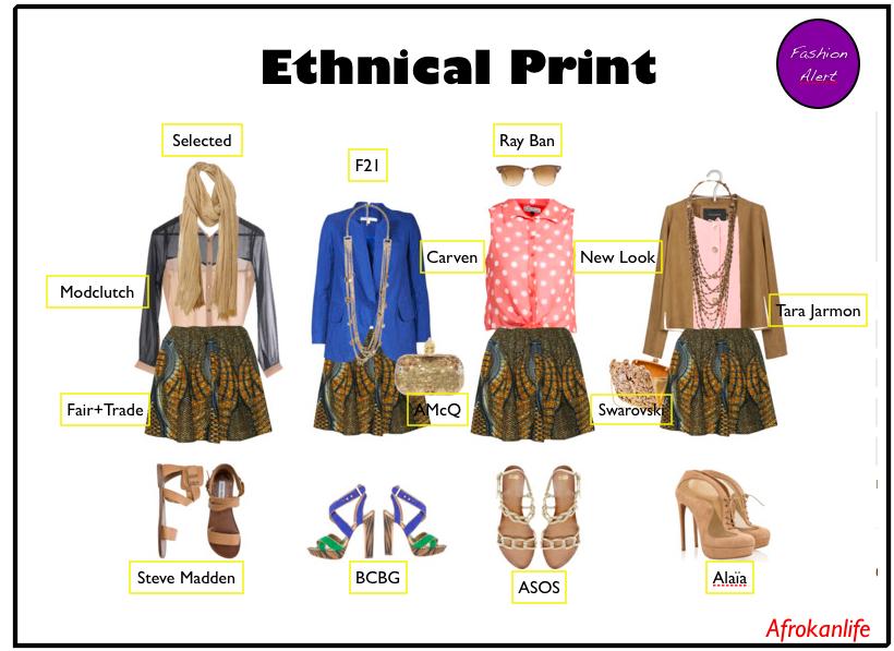 Comment porter la tendance imprimés ethniques ?