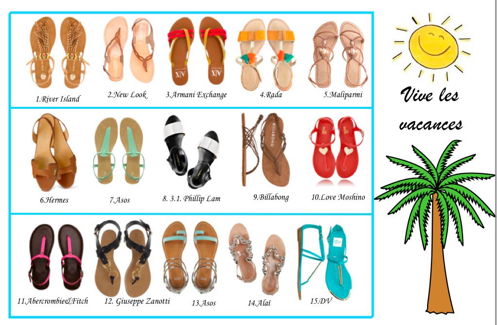15 sandales d'été à shopper immédiatement