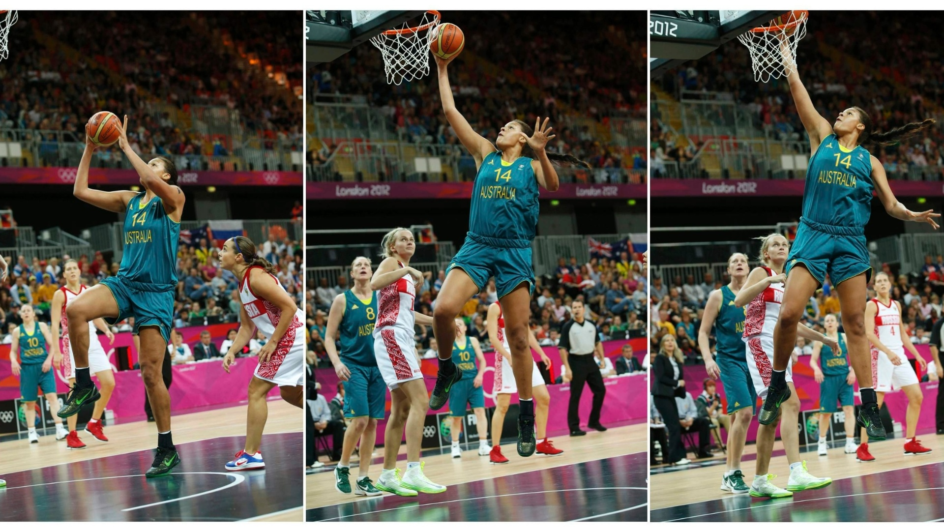 la meilleure attitude a1d7c 09b3b Liz Cambage fait le premier dunk de l'histoire des JO basket ...