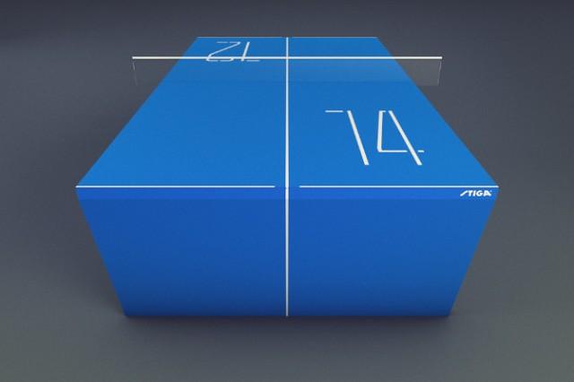 La table de Ping-Pong du futur version Apple 3
