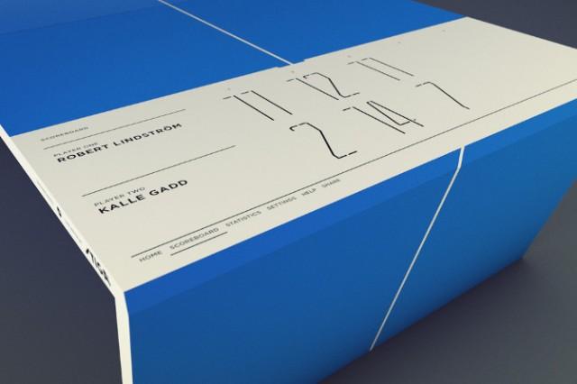 La table de Ping-Pong du futur version Apple 2