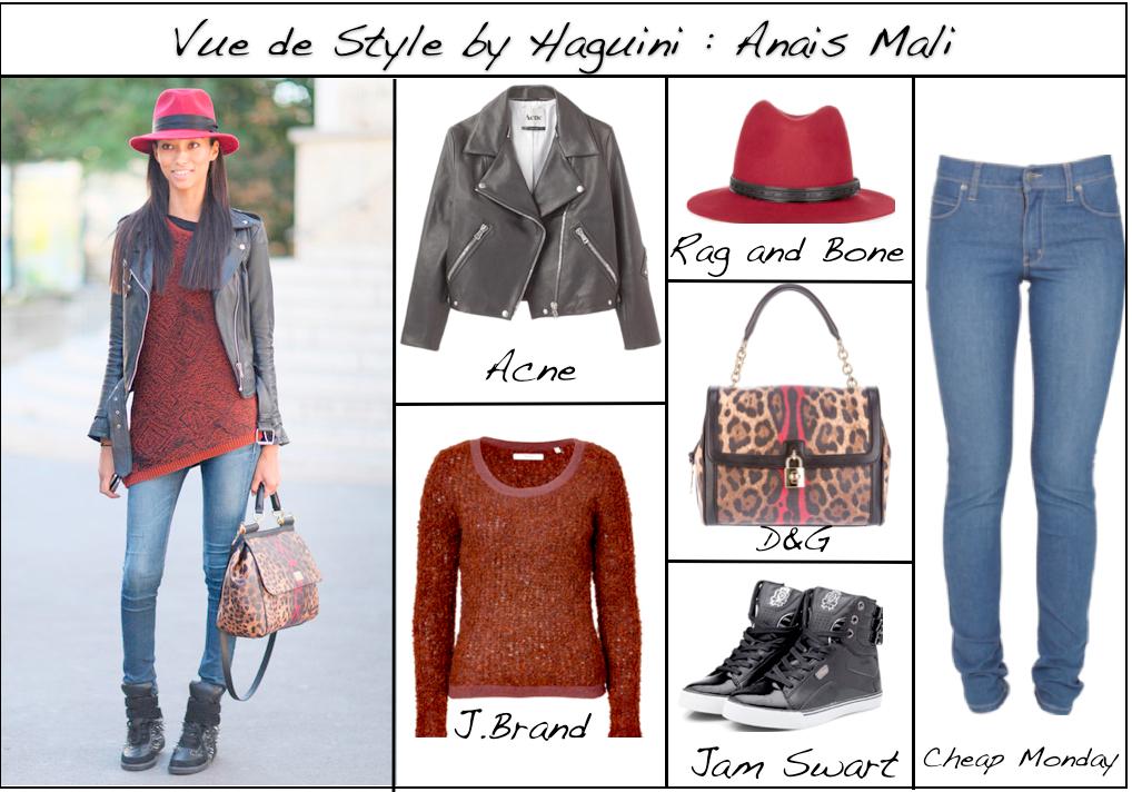 Comment faire pour s'habiller comme Anais Mali