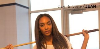 Image Jourdan Dunn for Rag and Bone