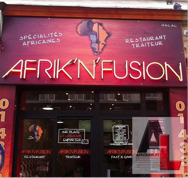 projecteur sur afrik 39 n 39 fusion le fast food africain de paris digikan. Black Bedroom Furniture Sets. Home Design Ideas