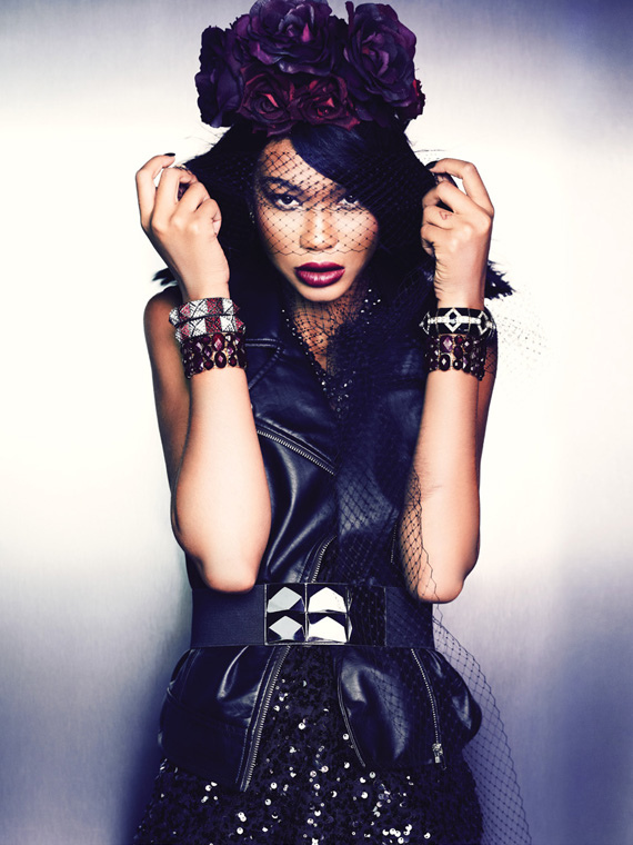 Chanel Iman pour la marque Forever 21