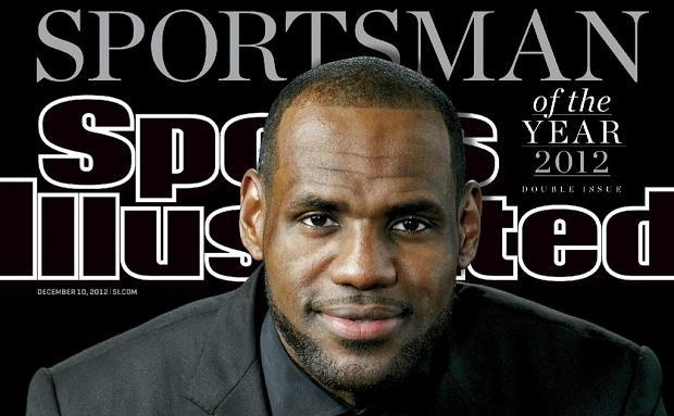 Lebron James named SI Sportsman of the Year!