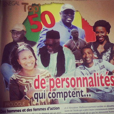 Le top 50 senegal