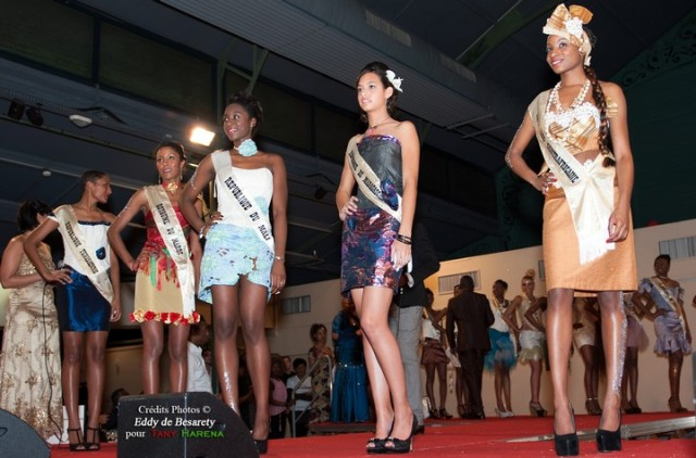 5 Finalistes miss union africaine