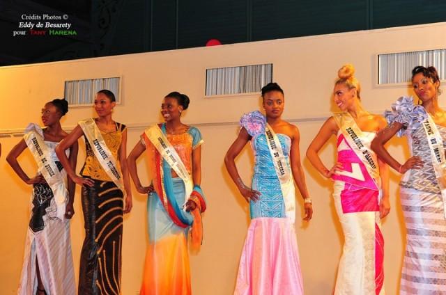 Les Miss Union Africaine en Ecklectika