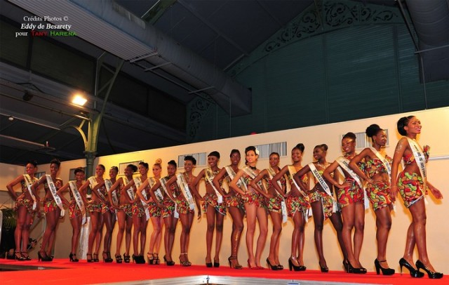 Les Miss Union Africaine en pagne