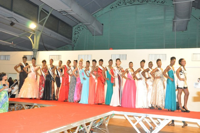 Les Miss union africaine 2013