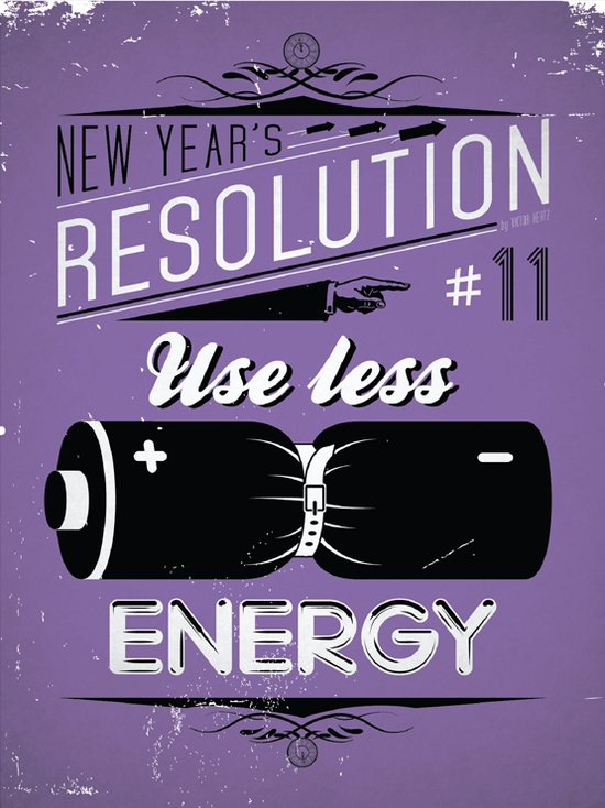 Les résolutions du Nouvel An illustrées par Viktor Hertz