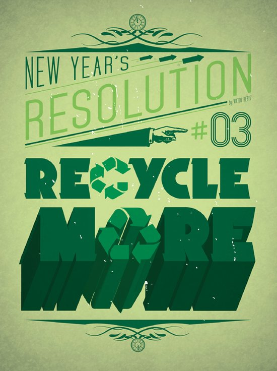 Resolution 2013 : Recycle More