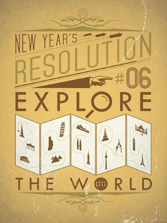Resolution 2013 : Explore the world