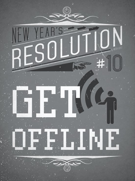 Resolution 2013 : Get offline