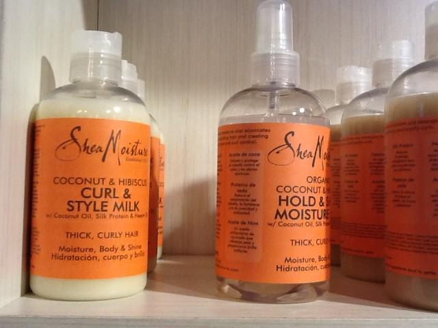 shea moisture products à la boutique G l'Hair Pur