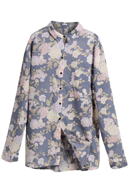 Le chemise à fleur La collection éco-responsable Conscious