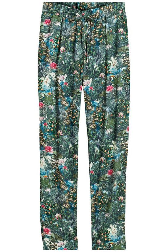Le pantalon fleuri