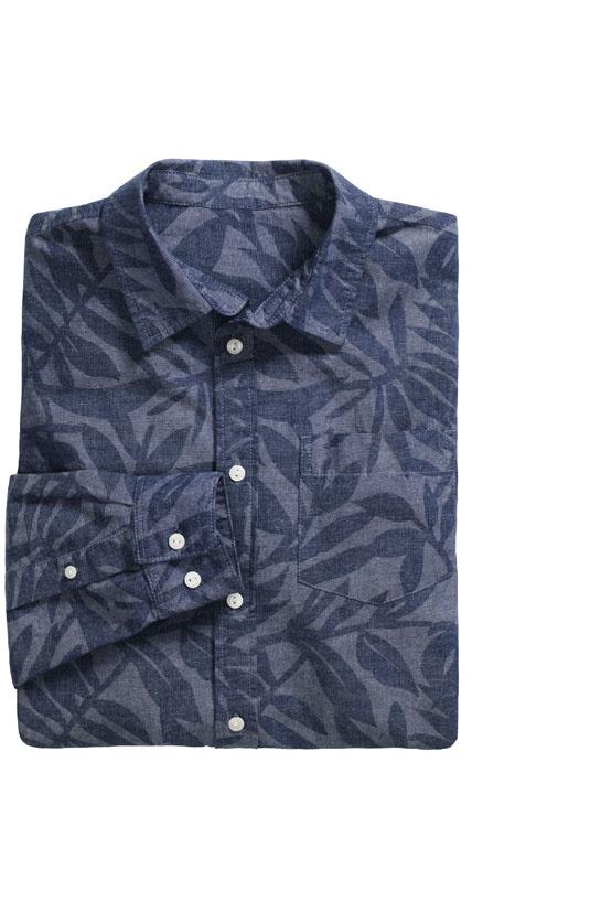 La chemise à feuille