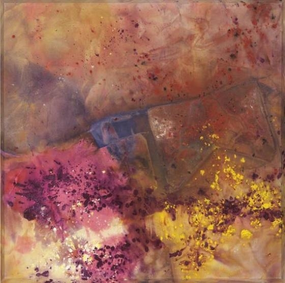 Sam Gilliam Butterly Feeling