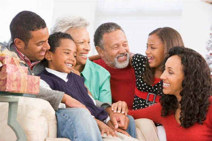 black_family_smiling