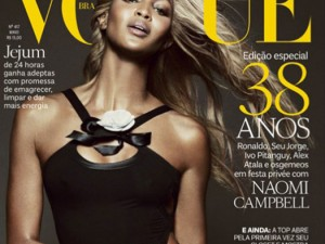 cover naomi campbell brazil vogue