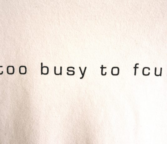 to busy to fcuk