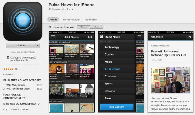 App mobile de contenu - business mobile en Afrique