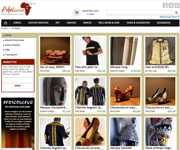 Afrikréa, la création africaine sous toutes ses formes