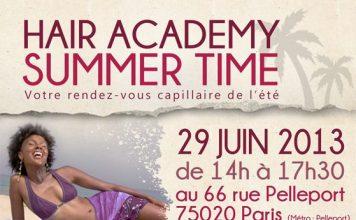 hair academy summertime