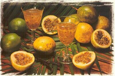 le-punch-maracudja Guadeloupe