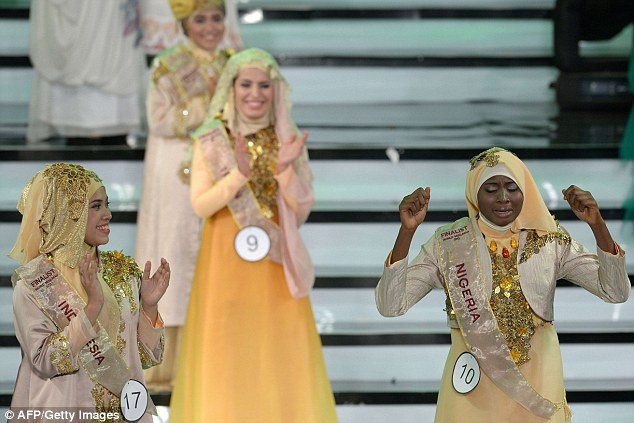 Nigerian Obabiyi Aishah Ajibola is Miss world Muslimah!