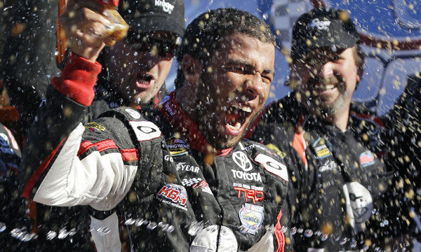 Darrell Wallace Jr. becomes second African American to win in NASCAR 2