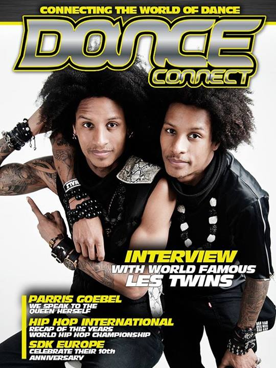 Les Twins cover magazine Dance Connect