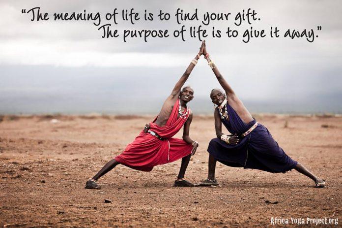 africa yoga