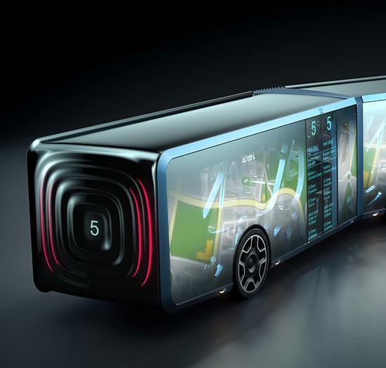quoi va ressembler le bus du futur. Black Bedroom Furniture Sets. Home Design Ideas