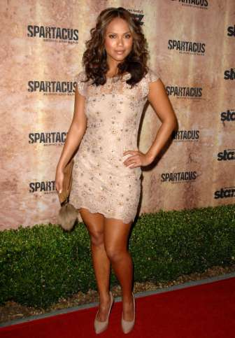 LESLEY-ANN BRANDT Attends The Original TV Series Premiere Of Spartacus: Blood And...