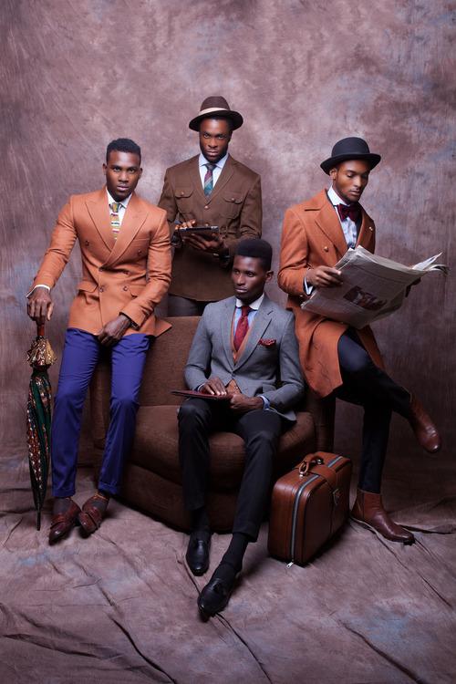 McMeka est un label de design né à Lagos (Nigeria) en 2011 et qui se concentre uniquement sur la confection sur mesure pour hommes. À la fin de lété passé,