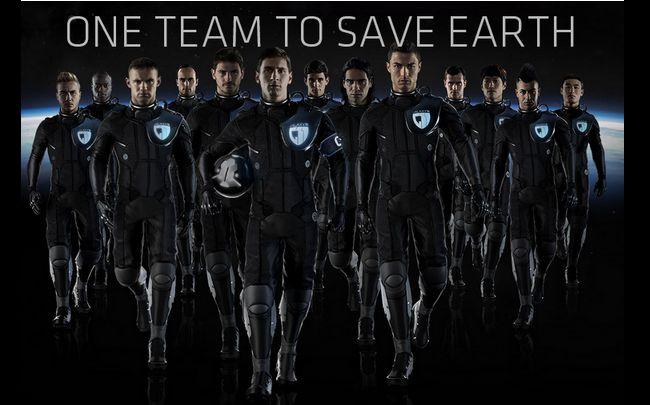 Messi et Cristiano Ronaldo font la guerre aux aliens