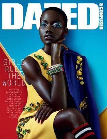 Lupita Nyong'o en couverture du magazine Dazed & Confused