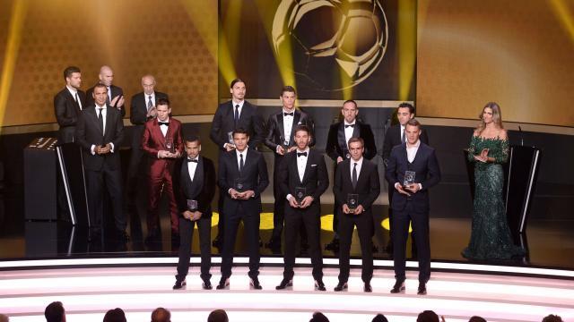 L'équipe de l'année 2013