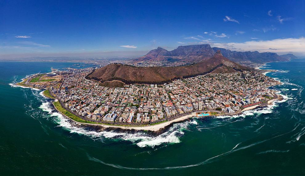 Cape Town, South Africa credit : airpano.com