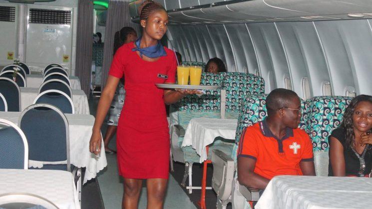 ghana plane restaurant 2